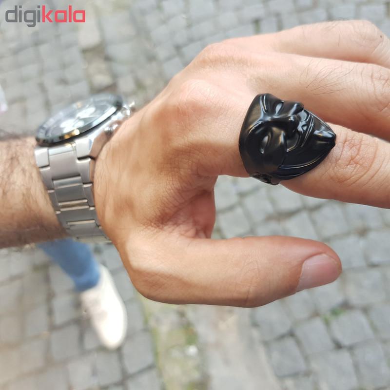 انگشتر مردانه طرح تاتر کد a51