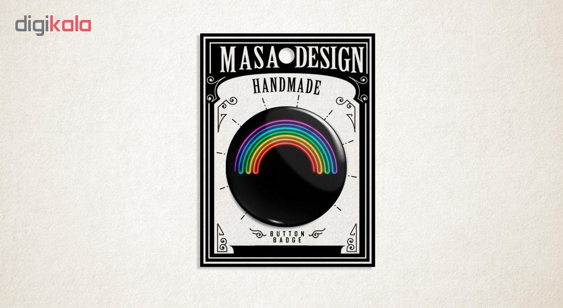 پیکسل ماسا دیزاین طرح رنگین کمان کد ASF28