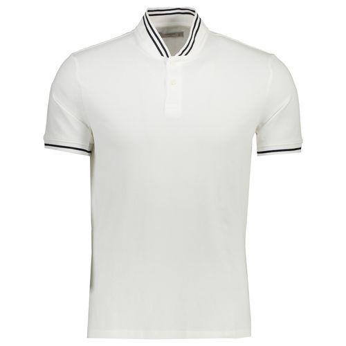تی شرت نخی آستین کوتاه مردانه - مانگو