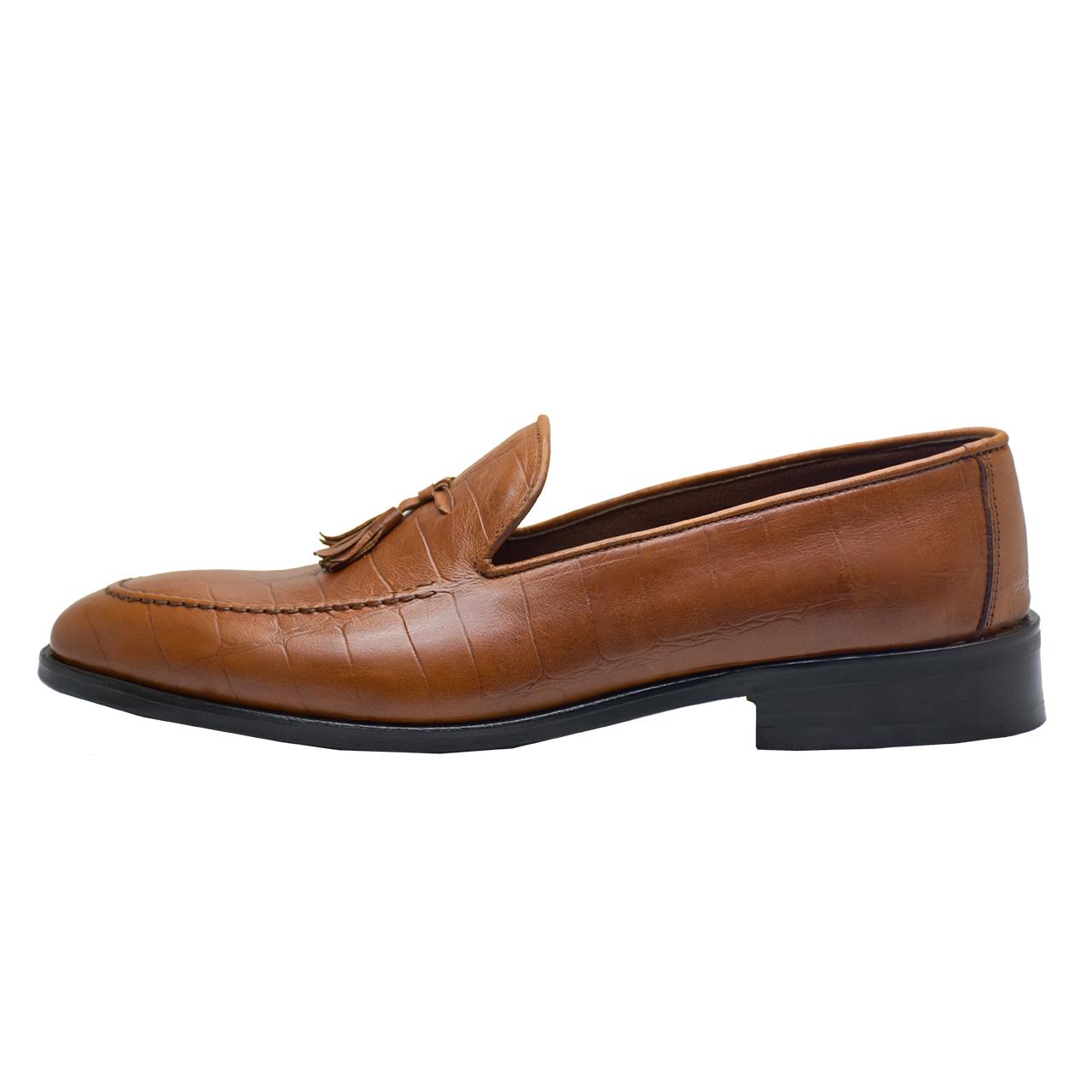 کفش مردانه رسا چرم کد 138