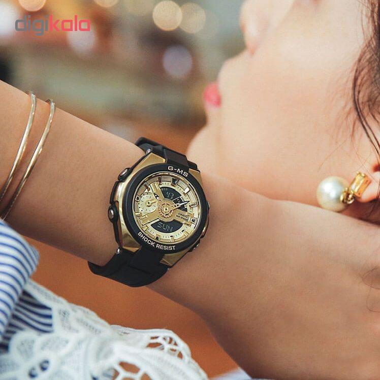 ساعت  زنانه کاسیو  مدل  MSG-400G-1A2DR