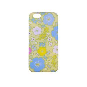 کاور ژله ای مدل گل  آبی مناسب برای گوشی آیفون 6s
