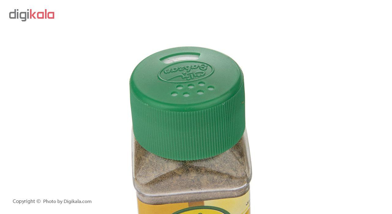 پودر لیمو فلفلی سبزان وزن 70 گرم
