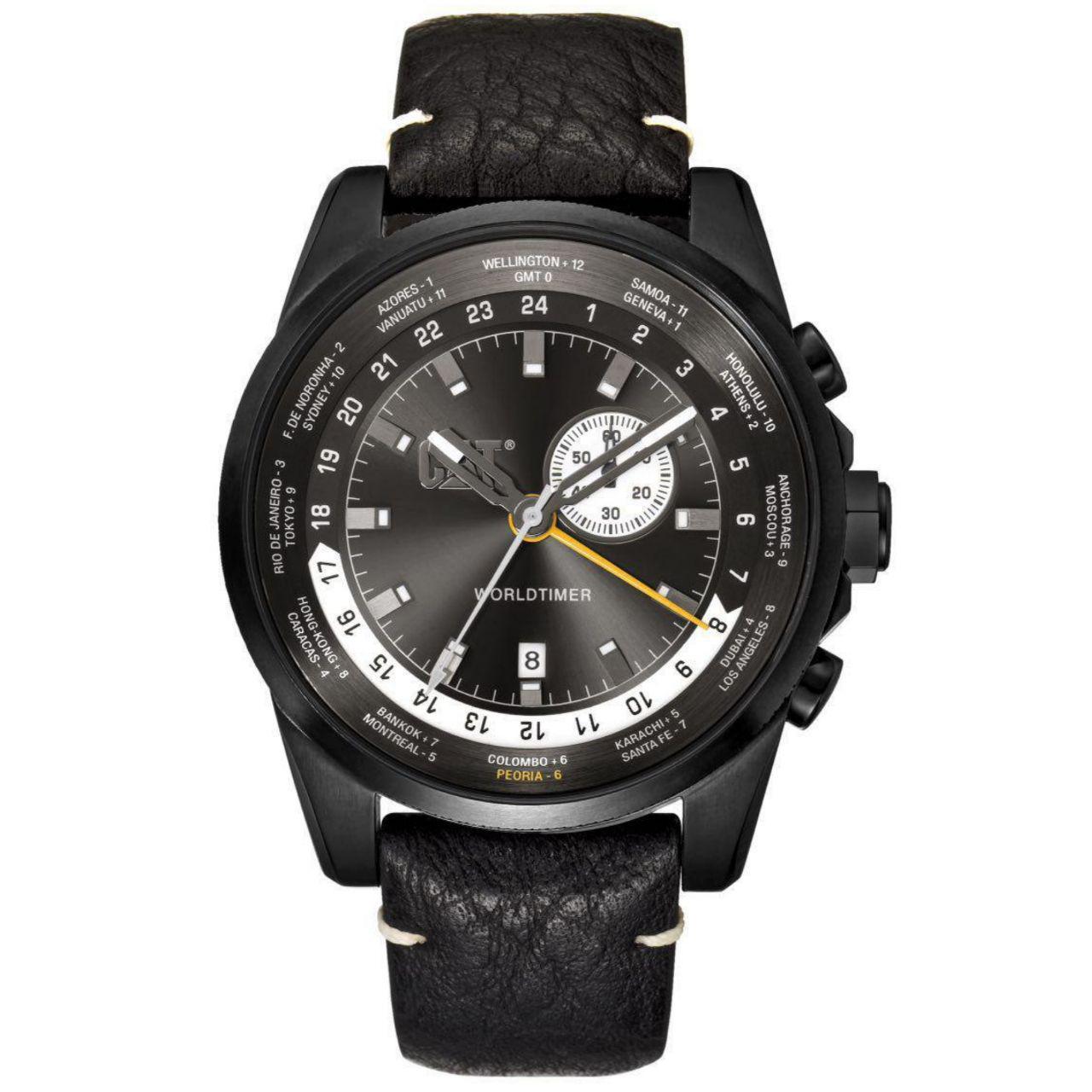 ساعت مچی عقربه ای مردانه کاترپیلار مدل  WT.165.34.522