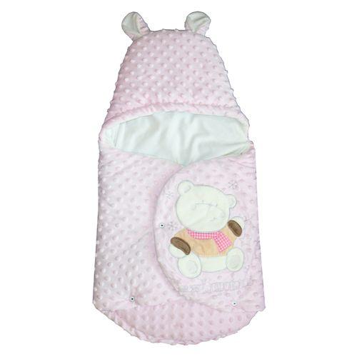 پتو قنداق نوزادی مدل Happy Bear