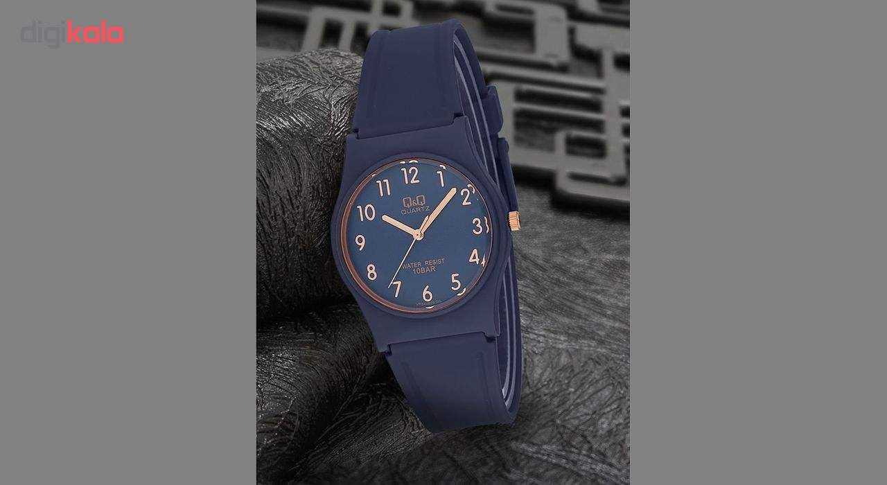 ساعت مچی عقربه ای زنانه کیو اند کیو مدل VP34J078Y              ارزان