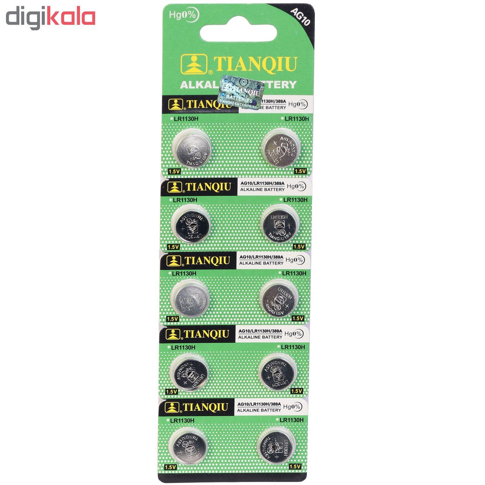 باتری ساعتی تیانکیو مدل AG10 بسته 10 عددی main 1 1