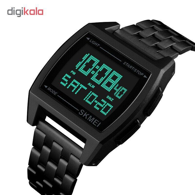 ساعت مچی دیجیتال اسکمی کد 1368B -  - 1