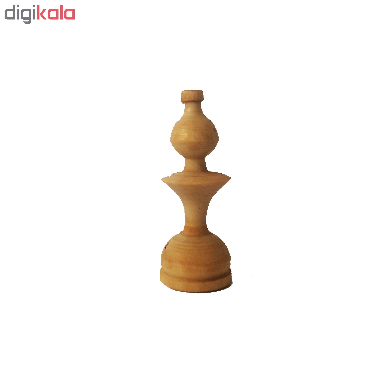 مهره شطرنج مدل W-m1 مجموعه 32 عددی