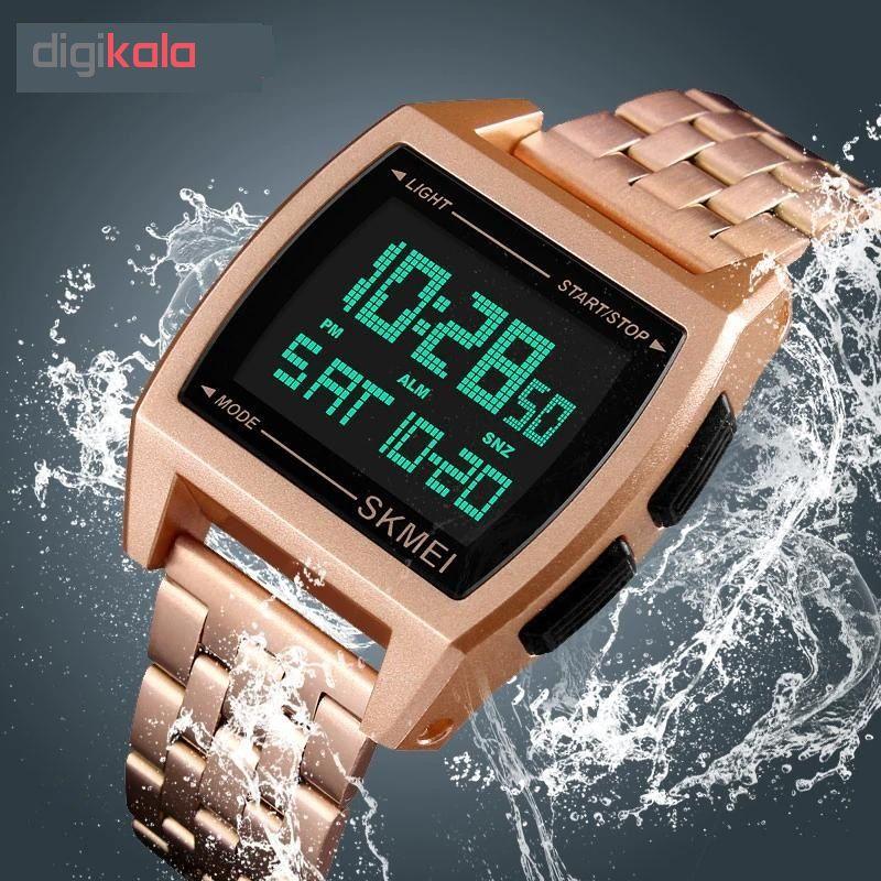 ساعت مچی دیجیتال اسکمی کد 1368R