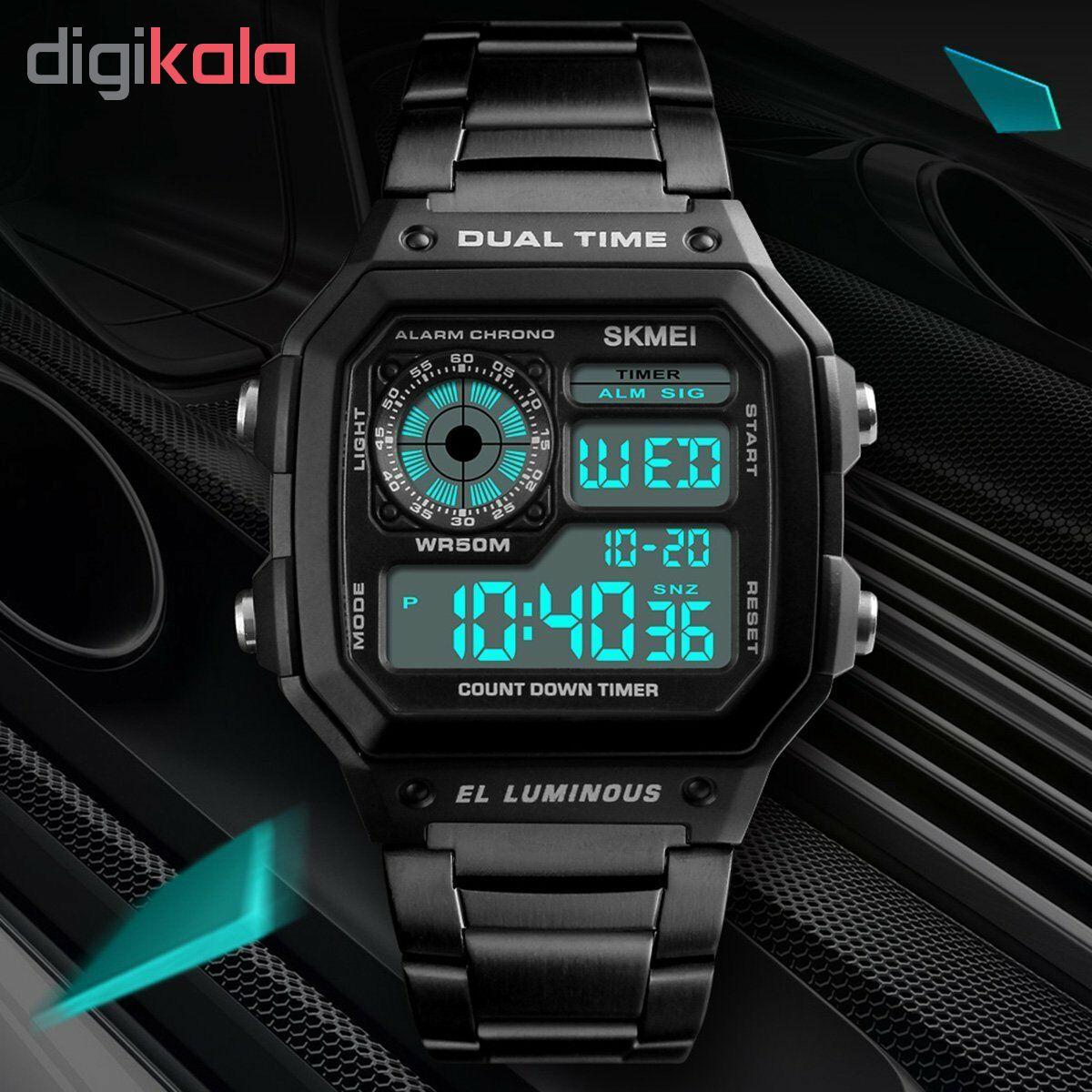 ساعت مچی دیجیتال اسکمی کد 1335