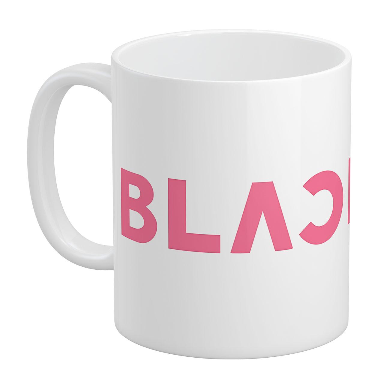 عکس ماگ آبنبات رنگی طرح Black Pink کد KSA0014