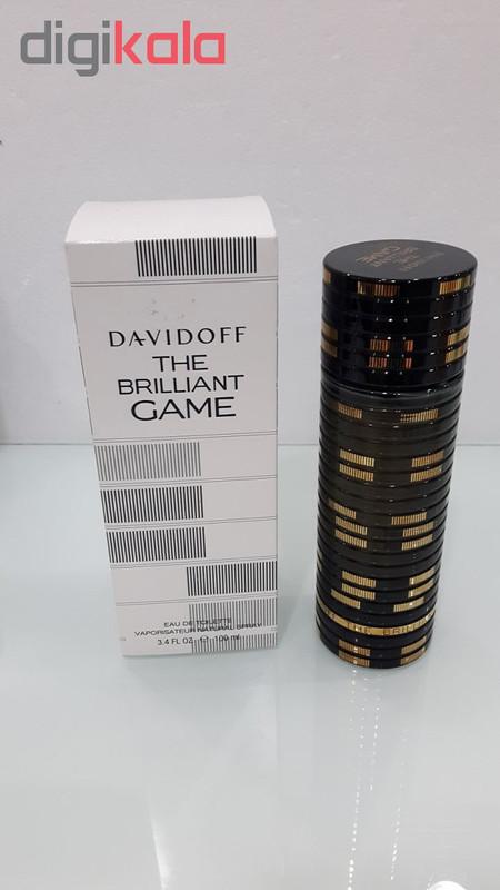 تستر ادو تویلت مردانه داویدف مدل The Brilliant Game حجم 100 میلی لیتر