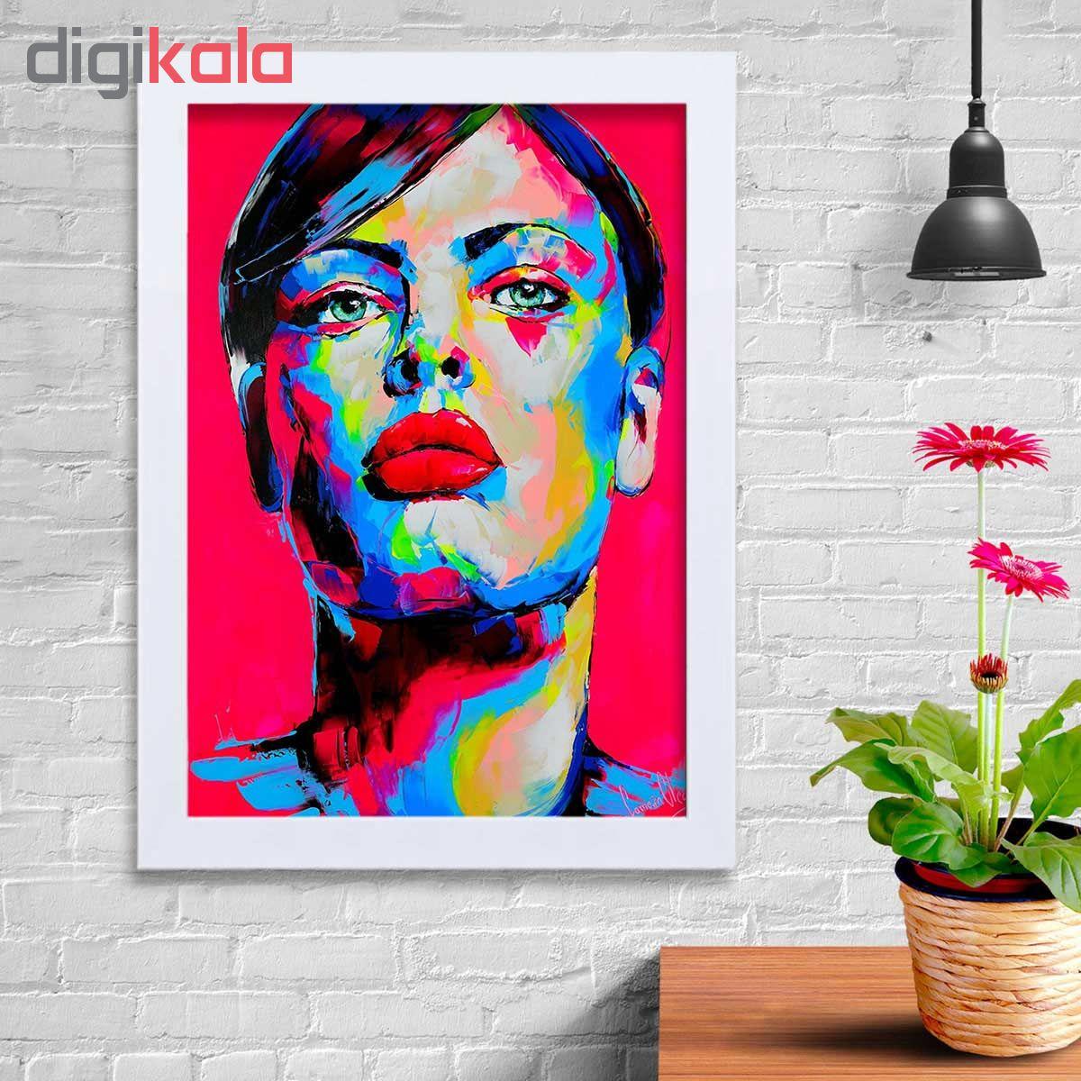 تابلو   گالری استاربوی طرح دخترانه مدل هنری KL90