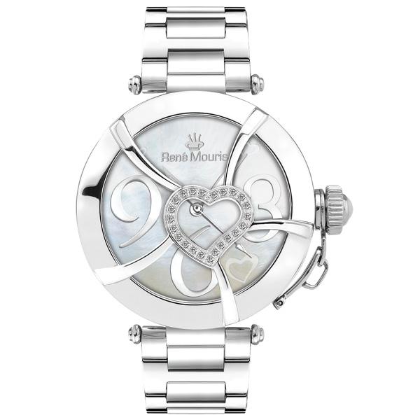 ساعت مچی عقربه ای زنانه رنه موریس مدل Coeur d Amour 50102RM1