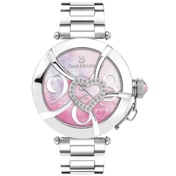 ساعت مچی عقربه ای زنانه رنه موریس مدل Coeur d Amour 50102RM2 7