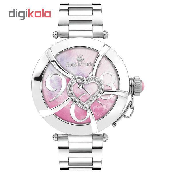 ساعت مچی عقربه ای زنانه رنه موریس مدل Coeur d Amour 50102RM2