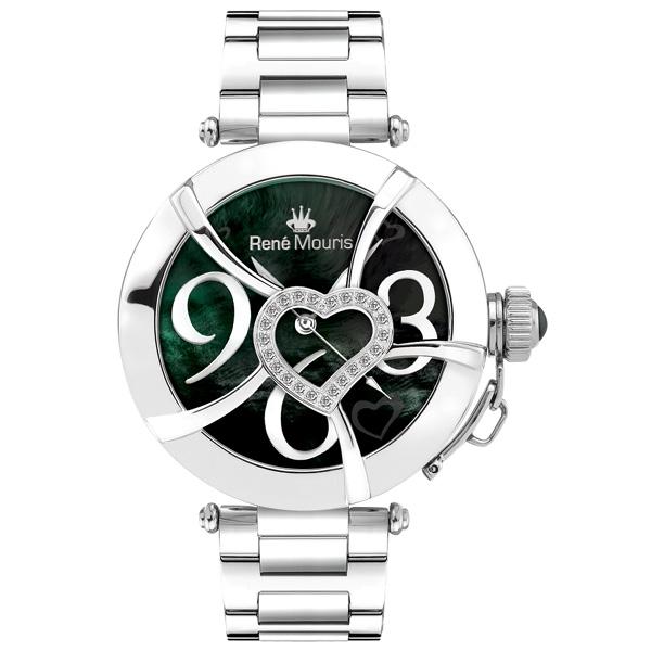 ساعت مچی عقربه ای زنانه رنه موریس مدل Coeur d Amour 50102RM3