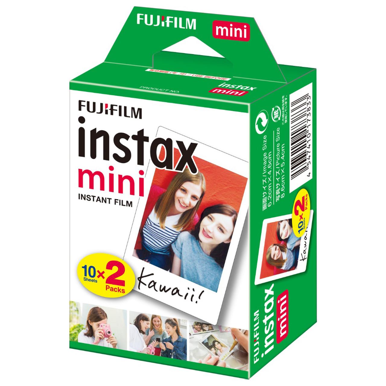 خرید اینترنتی فیلم چاپ سریع فوجی فیلم مدل 2×Instax mini 10