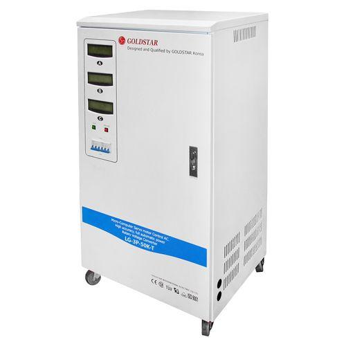 استابلایزر گلداستار مدل LG-3P-50K-T ظرفیت 50000VA