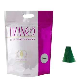 پودر دکلره لیزانو مدل Mint وزن 50 گرم رنگ سبز