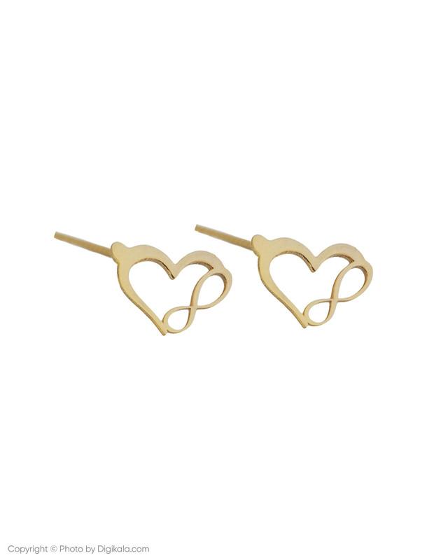 گوشواره طلا 18 عیار زنانه میو استار مدل EG143