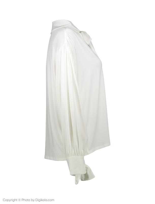 بلوز یقه کراواتی زنانه - مانگو