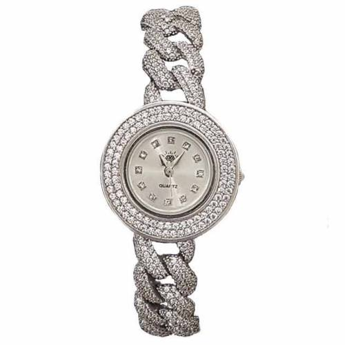 ساعت مچی عقربه ای زنانه نقره ترمه 1 مدل WT01