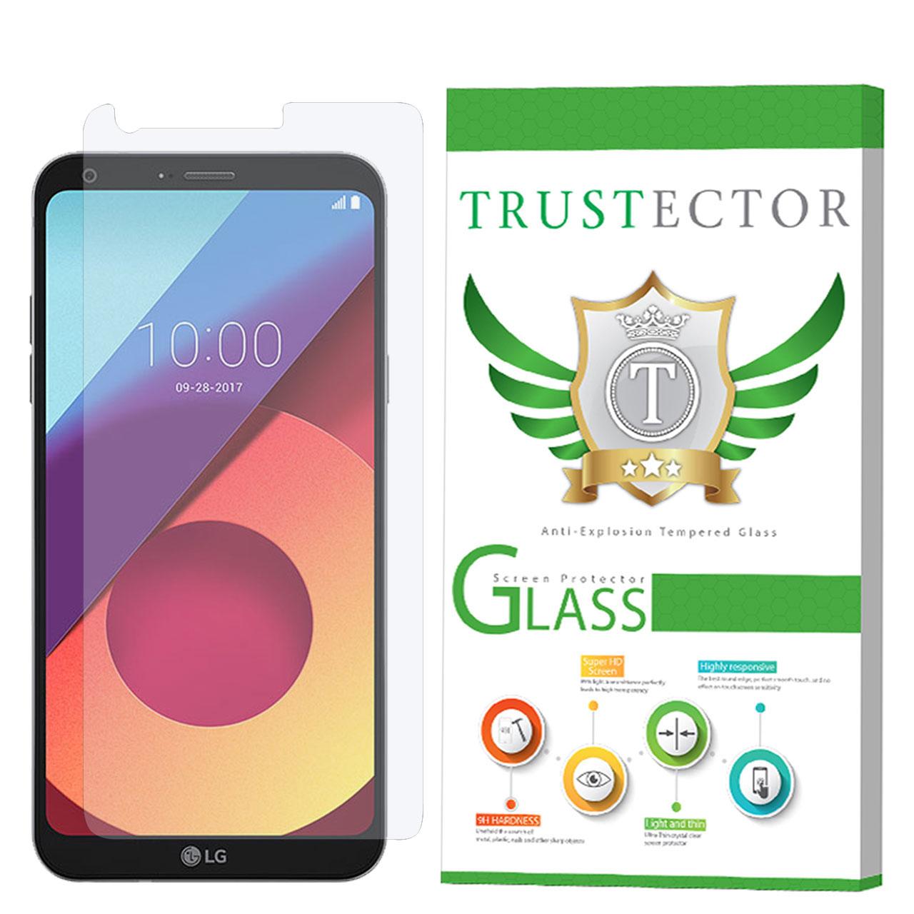 محافظ صفحه نمایش تراستکتور مدل GLS مناسب برای گوشی موبایل ال جی Q6              ( قیمت و خرید)