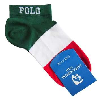 جوراب مردانه جهانشیری طرح پرچم ایتالیا