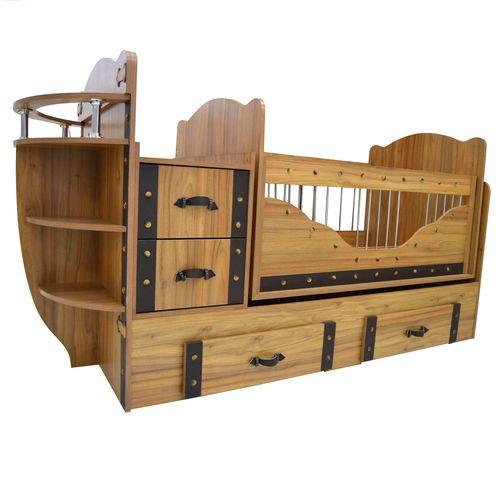 تخت خواب کودک  مدل Viking