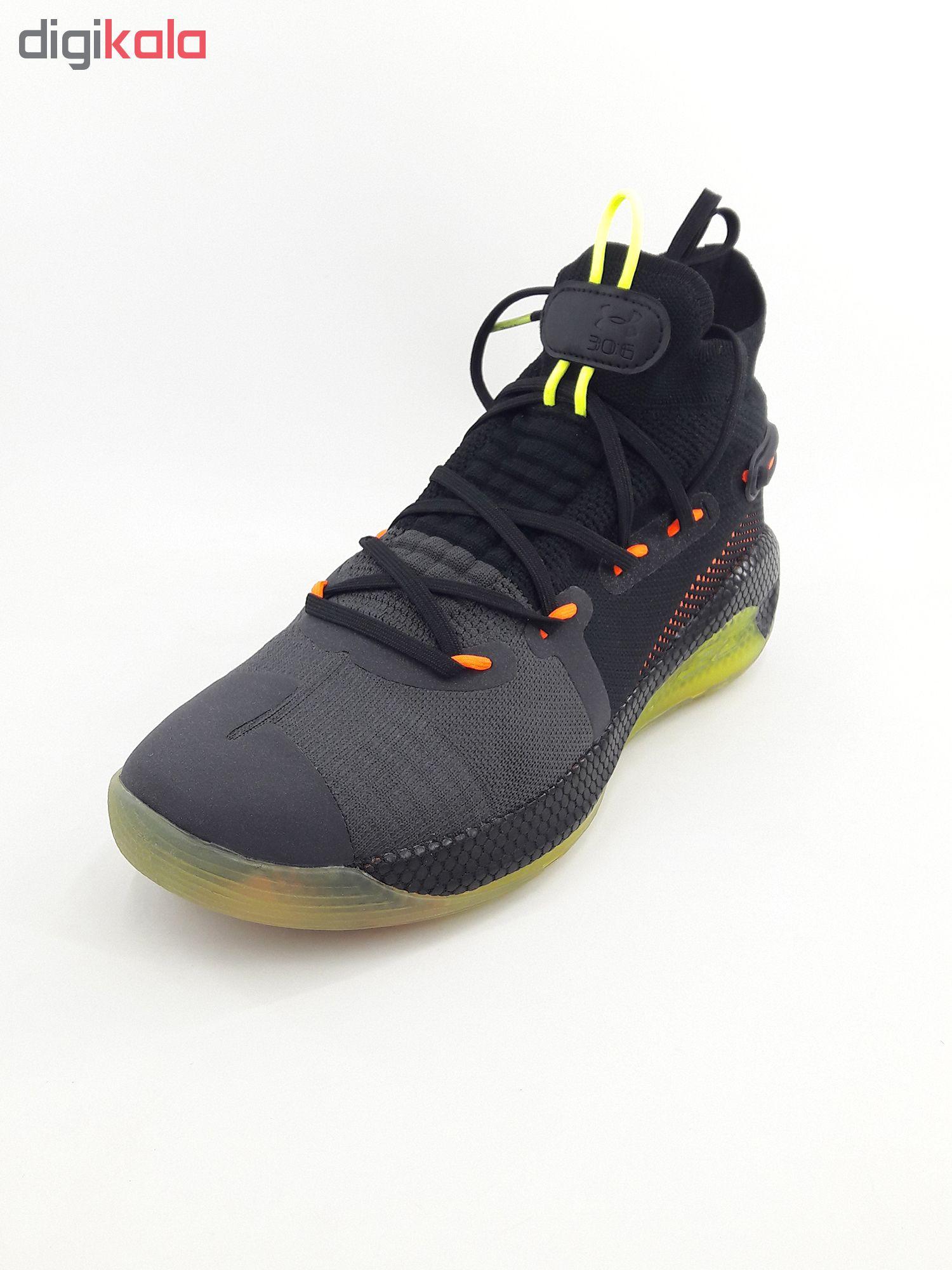 کفش راحتی مردانه آندر آرمور مدل Curry 6 fox