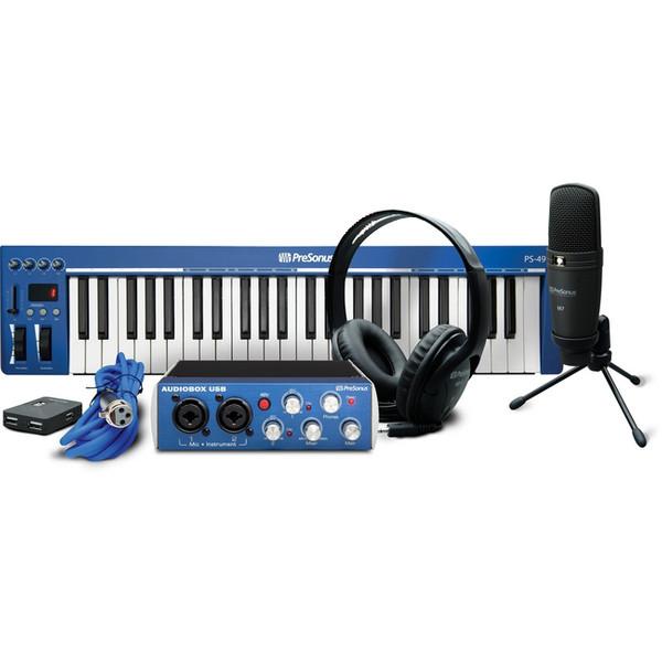 پکیج کارت صدا پری سونوس مدل AudioBox Music Creation Suite