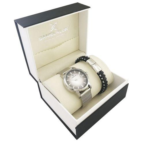 ساعت مچی عقربه ای مردانه دنیل کلین مدل dk12163-1 به همراه دستبند