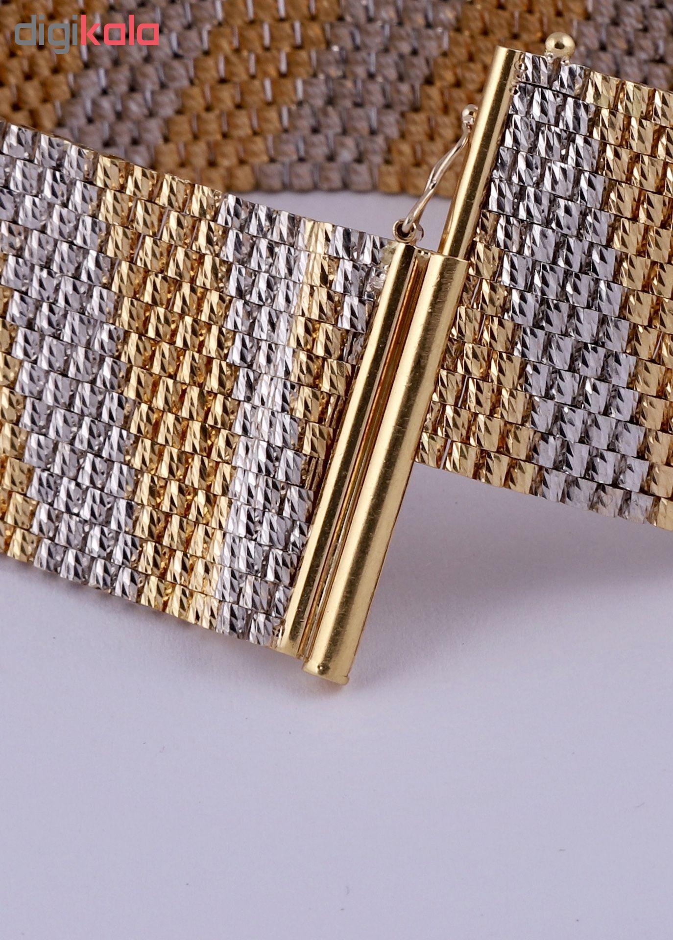 دستبند طلا 18 عیار زنانه گوی گالری کد G394