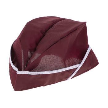 کلاه آشپزی کد SA1 رنگ زرشکی