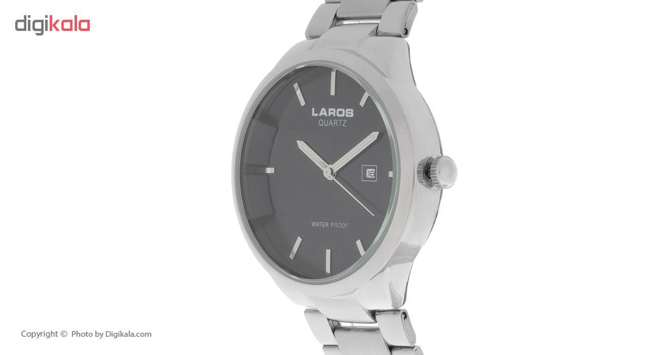 ساعت مچی عقربه ای مردانه لاروس مدل No 0617-79250