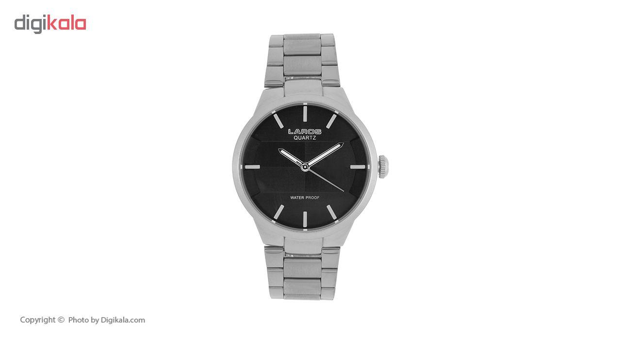 ساعت مچی عقربه ای مردانه لاروس مدل No 0617-79250a