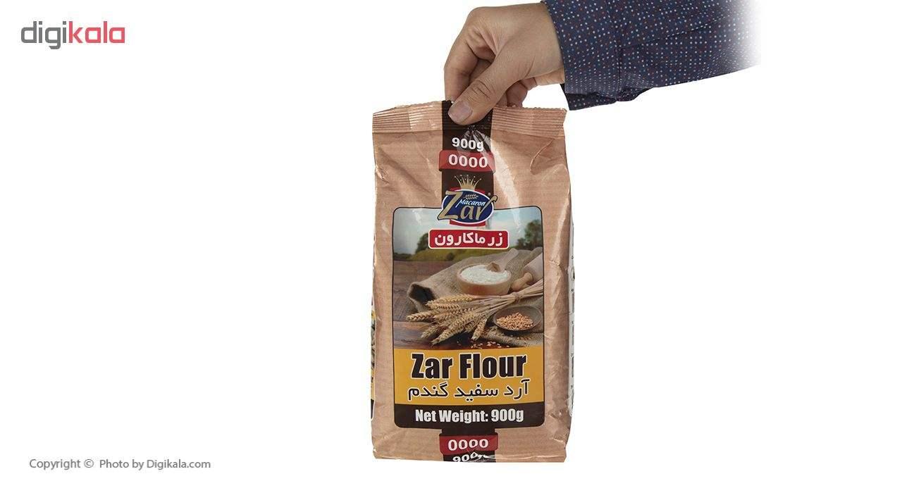 آرد سفید گندم زرماکارون وزن 900 گرم main 1 4
