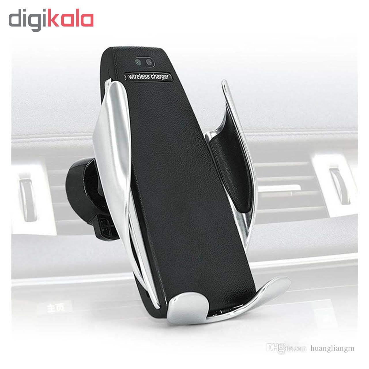 پایه نگهدارنده و شارژر بی سیم گوشی موبایل مدل S5 main 1 8