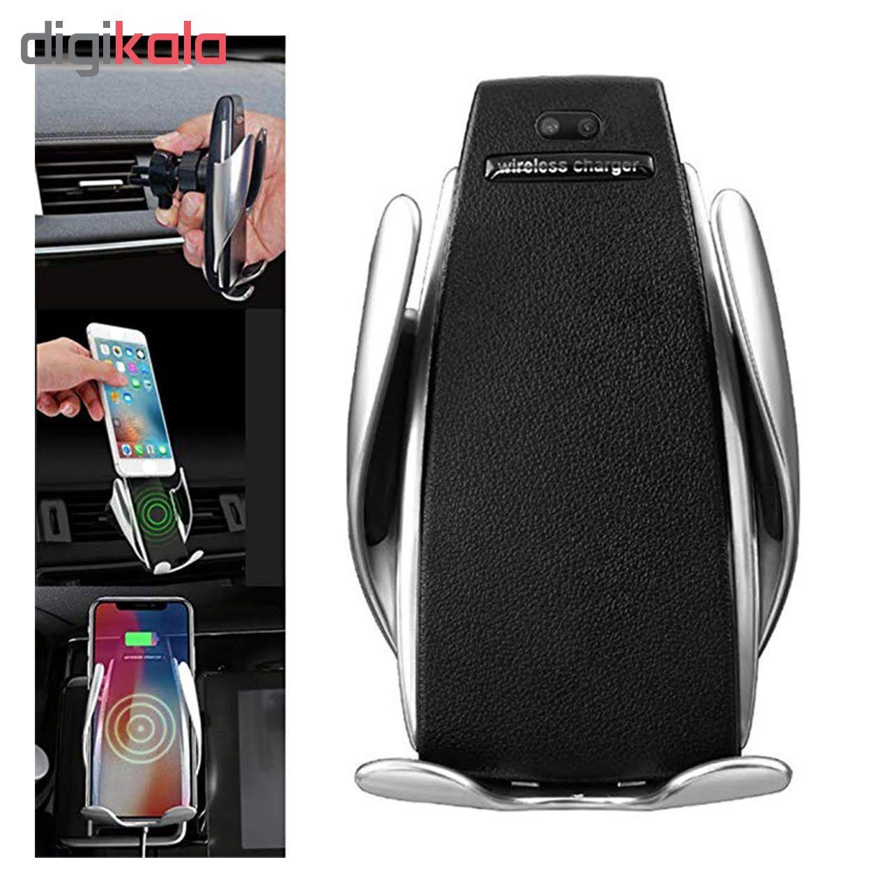 پایه نگهدارنده و شارژر بی سیم گوشی موبایل مدل S5 main 1 10