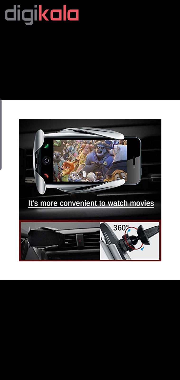 پایه نگهدارنده و شارژر بی سیم گوشی موبایل مدل S5 main 1 15