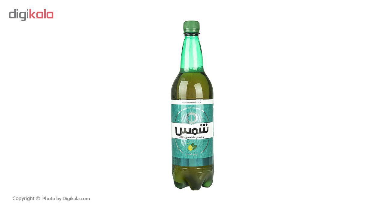 نوشیدنی مالت بدون الکل لیمو نعناع شمس - 1 لیتر بسته 6 عددی main 1 1