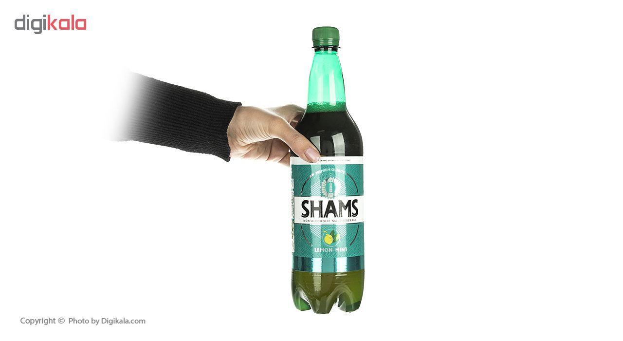 نوشیدنی مالت بدون الکل لیمو نعناع شمس - 1 لیتر بسته 6 عددی main 1 4