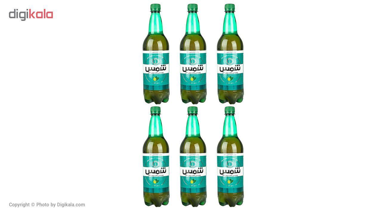 نوشیدنی مالت بدون الکل لیمو نعناع شمس - 1 لیتر بسته 6 عددی main 1 5
