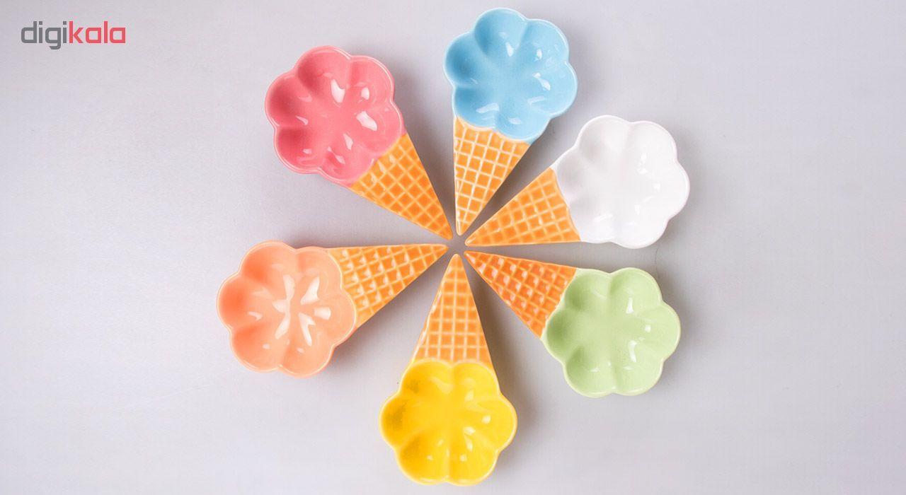 بستنی خوری کد 3110 بسته 6 عددی main 1 9