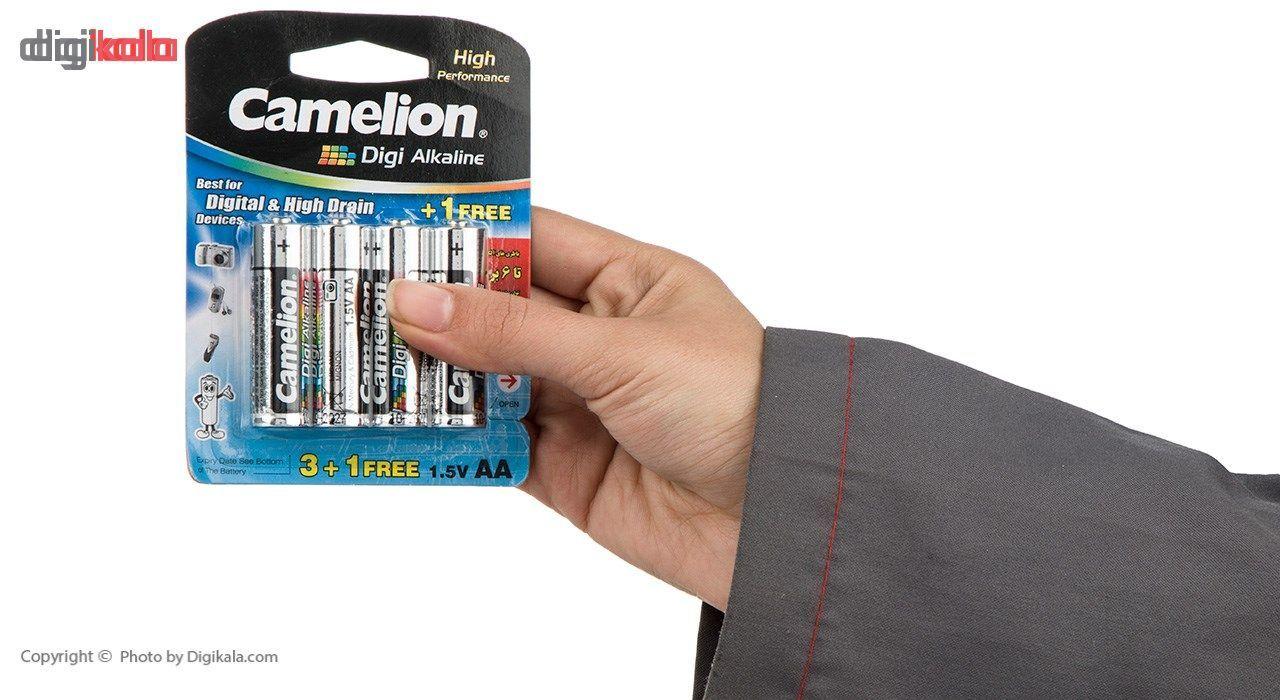 باتری قلمی و نیمقلمی کملیون مدل Digi Alkaline بسته 8 عددی main 1 4