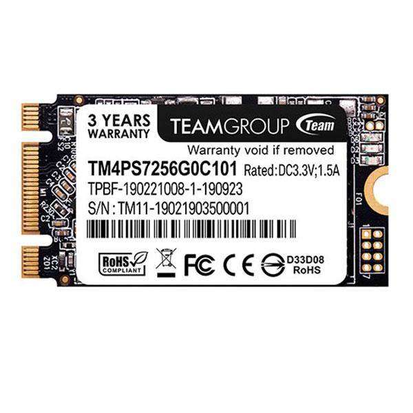 اس اس دی اینترنال تیم گروپ  مدل TMPS7256G0C101 ظرفیت 256 گیگابایت