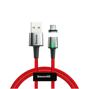 کابل تبدیل USB به USB-C باسئوس مدل Zinc طول 2 متر