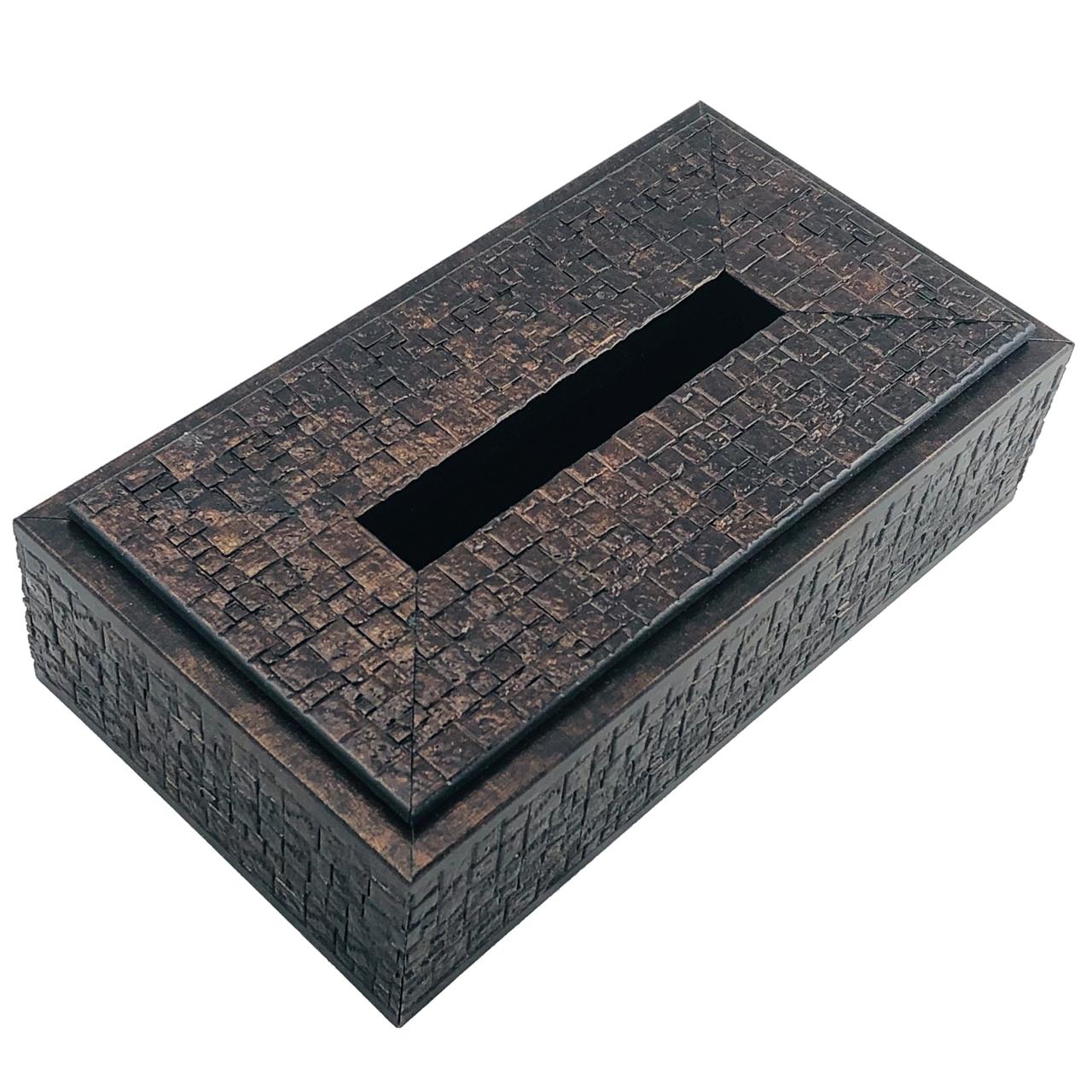عکس جعبه دستمال کاغذی کد 3373